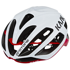 Kask Protone Bike Helmet red/white